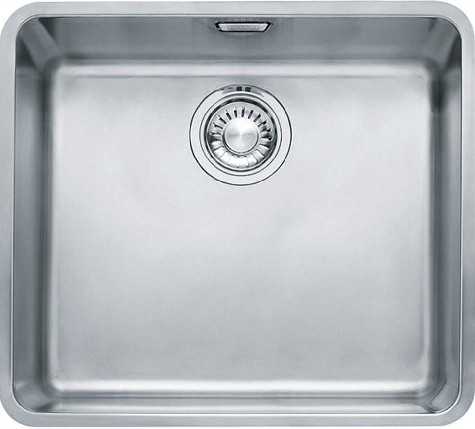 Кухонная мойка Franke Kubus KBX 110-45 полированная сталь 122.0036.603 franke kbx 110 34 нерж сталь зеркальная