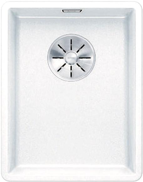 Кухонная мойка Blanco Subline 320-F InFino белый 523419 кухонная мойка blanco subline 320 f белый с отв арм infino 523419