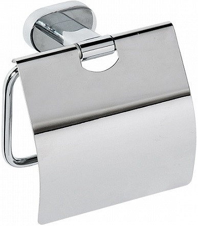 Держатель туалетной бумаги Bemeta Oval 118412011 держатель туалетной бумаги bemeta с крышкой 150x90x150мм 104212012