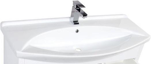 Раковина Aquanet Лагуна 105 cтеклянный стакан water god 5858