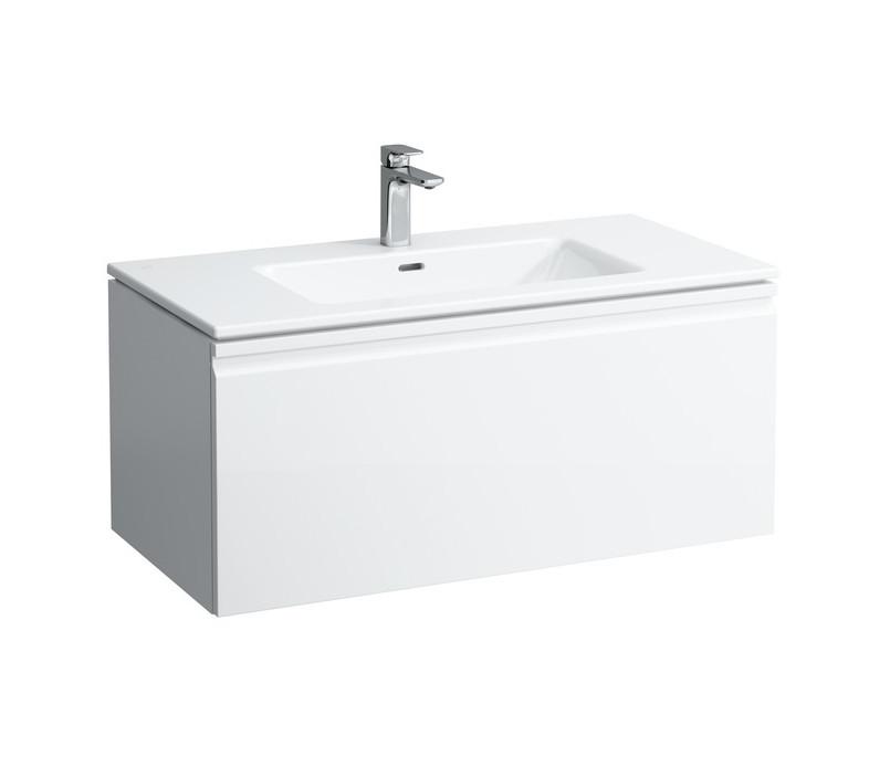 цены на Тумба с раковиной белый матовый 100 см Laufen Pro S 8609664631041 в интернет-магазинах