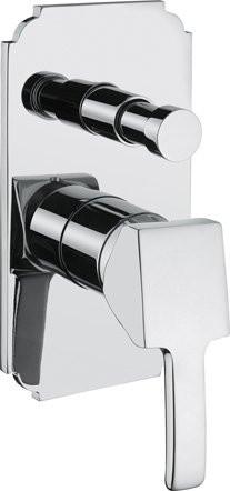 Встраиваемый однорычажный смеситель для ванны хром Cezares Legend LEGEND-VDIM-01 смеситель cezares legend для душа встраиваемый хром legend dim 01