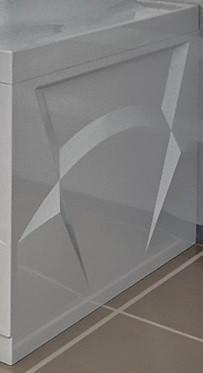 Торцевая панель правая 77 см Vannesa Роза 2-31-0-2-0-208