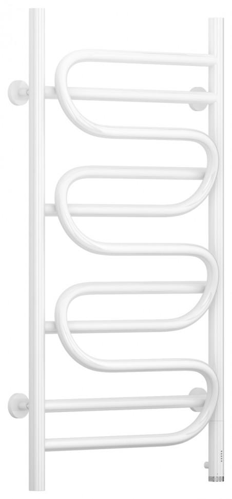 Полотенцесушитель электрический 950х500 белый глянец МЭМ правый Сунержа Иллюзия 12-0545-9550 полотенцесушитель электрический 800х400 белый глянец мэм правый сунержа модус 2 0 12 5601 8040