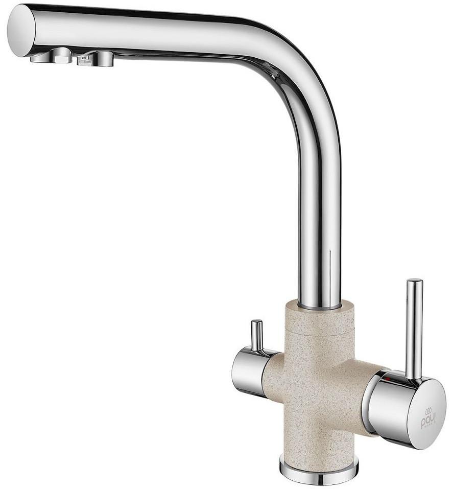 Смеситель для кухни с подключением к фильтру Paulmark Essen Es213011-BECR смеситель для кухни с подключением к фильтру paulmark essen es213011 418