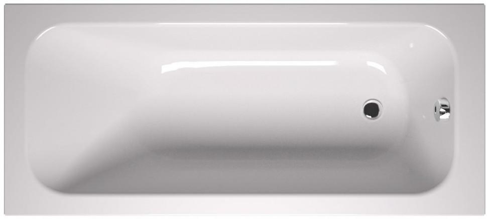 Акриловая ванна 170х70 см Vitra Balance 55180001000 акриловая ванна vitra matrix 170x80