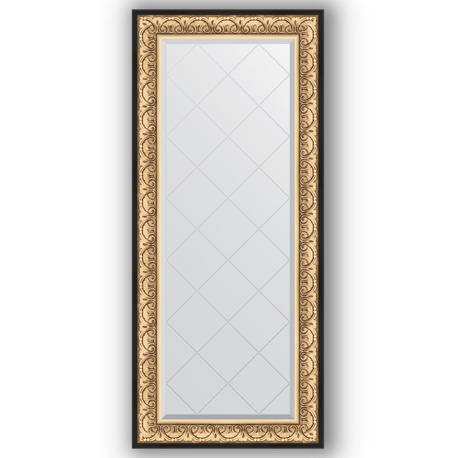 Фото - Зеркало 70х160 см барокко золото Evoform Exclusive-G BY 4165 зеркало с гравировкой поворотное evoform exclusive g 70x160 см в багетной раме барокко золото 106 мм by 4165