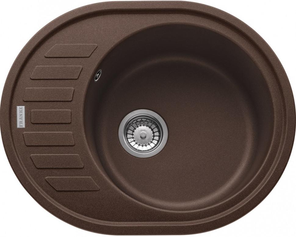 Кухонная мойка Franke Ronda ROG 611C шоколад 114.0263.463