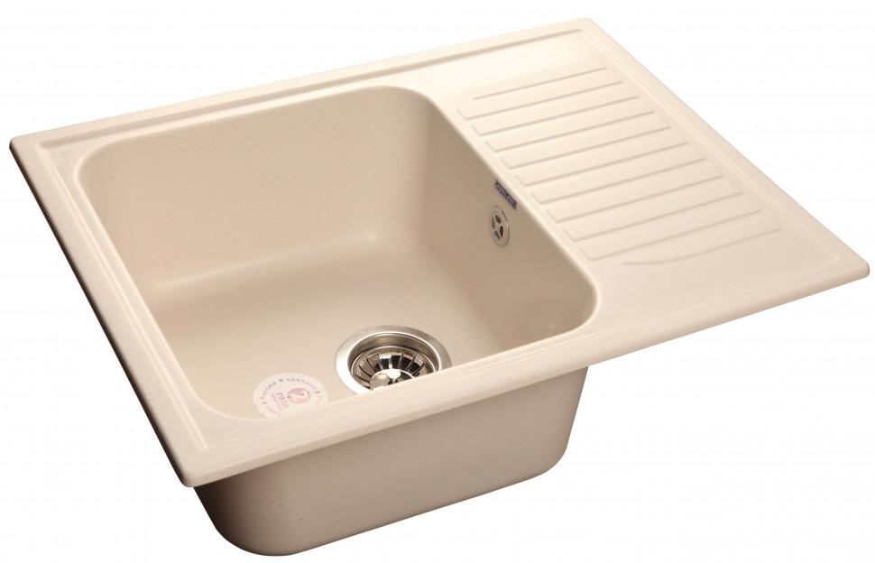 Кухонная мойка белый GranFest Standart GF-S645L цена 2017