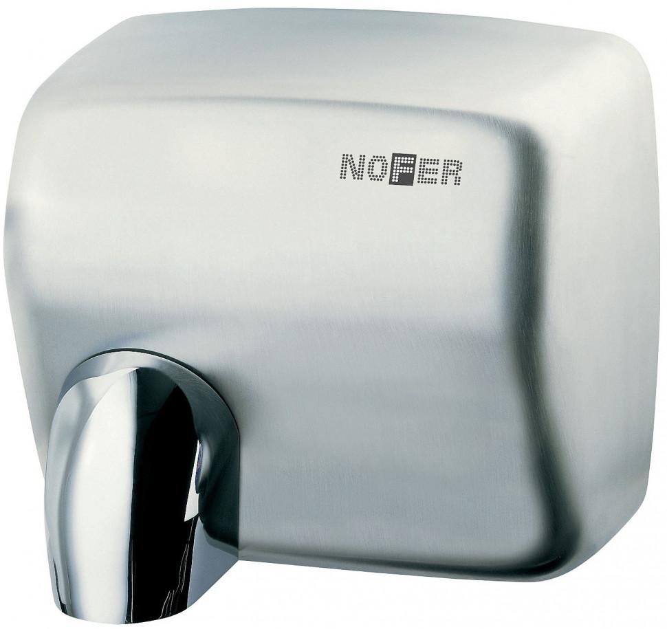 Сушилка для рук матовый хром Nofer Cyclon 01101.S дистиллятор cyclon