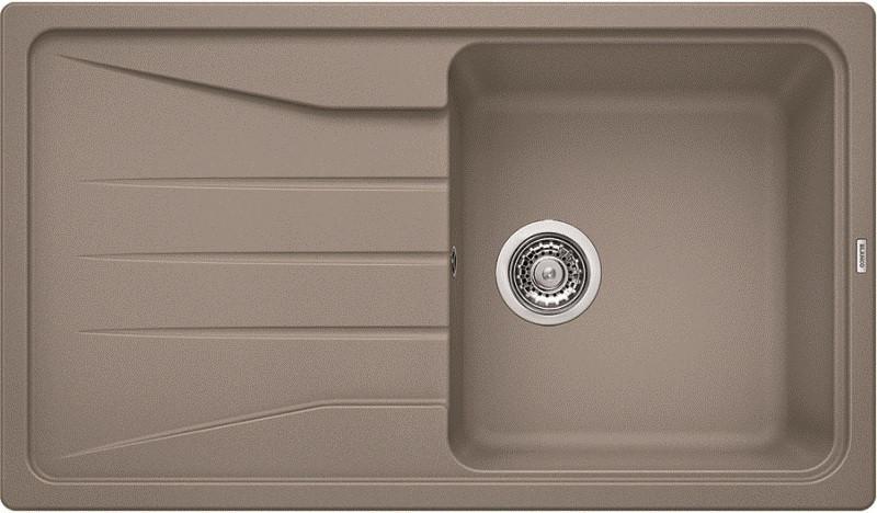 Кухонная мойка Blanco Sona 5S Серый беж 519678 кухонная мойка blancosona 5s шампань 519676