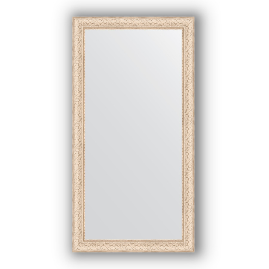 Фото - Зеркало 54х104 см беленый дуб Evoform Definite BY 1056 зеркало evoform definite 104х54 беленый дуб