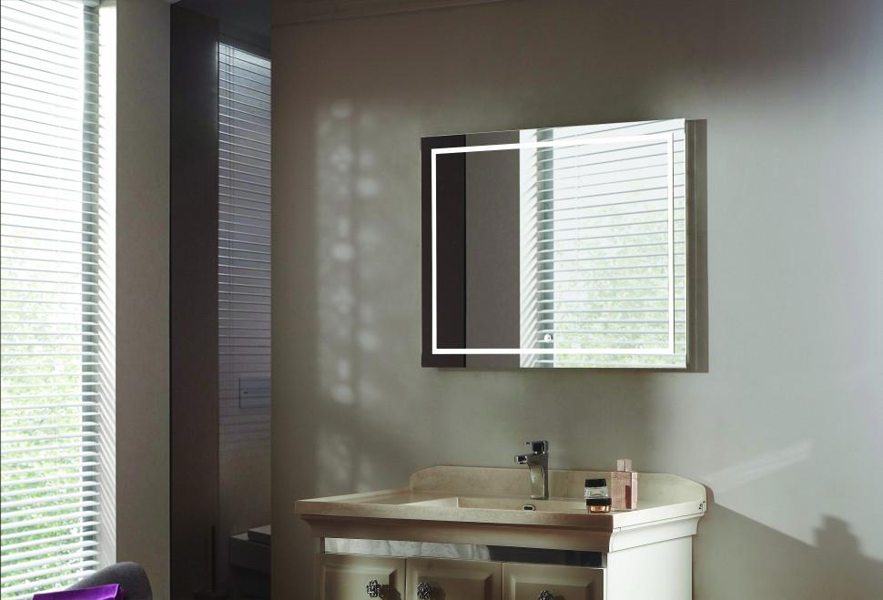 Зеркало с подсветкой 90х70 см Esbano ES-2414ID