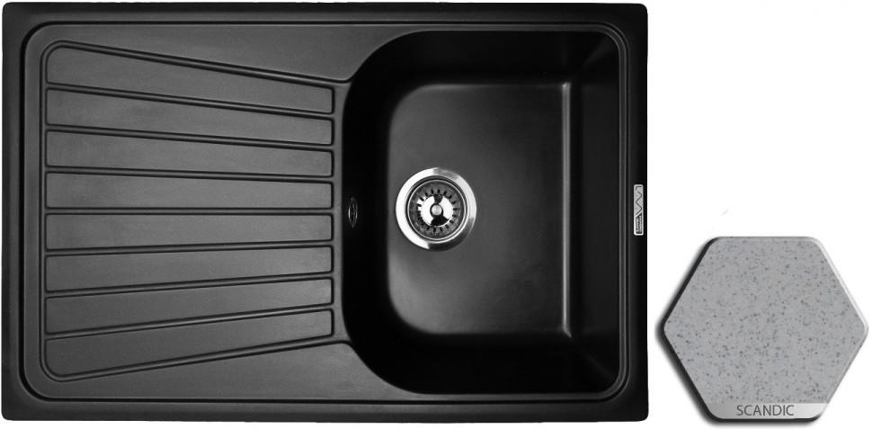 цена на Кухонная мойка SCANDIC Lava L3.SCA