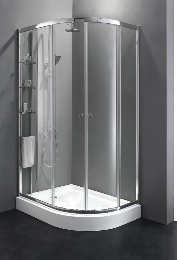 Душевой уголок Cezares Anima 120x90 см прозрачное стекло ANIMA-W-RH-2-120/90-C-Cr-L душевой уголок cezares anima w rh 2 120 90 c cr l