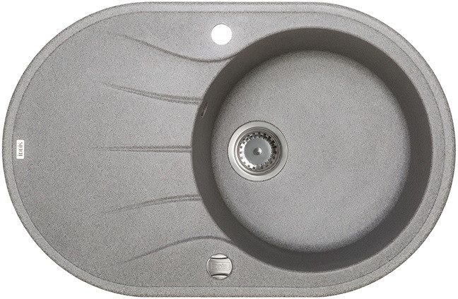 Кухонная мойка серый IDDIS Kitchen G K12G771I87 цены