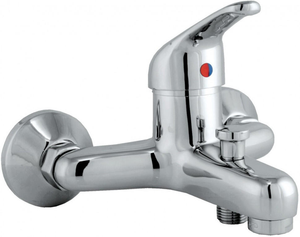 Смеситель для ванны GPD Flamengo MBB10 смеситель для ванны gpd koch bnb13 хром