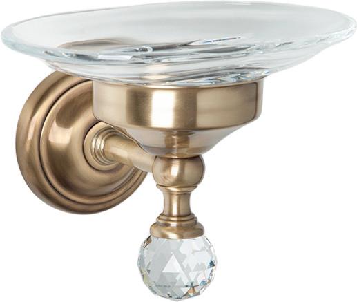 Мыльница бронза Tiffany World Crystal TWCR106br-sw