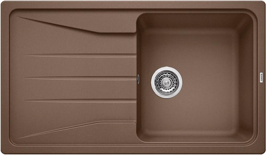 Кухонная мойка Blanco Sona 5S мускат 521923 кухонная мойка blanco sona 6s жемчужная