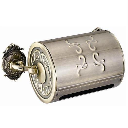 Держатель туалетной бумаги закрытый Hayta Classic Bronze 13903/BRONZE