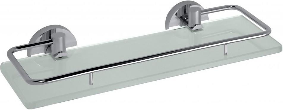 Полка стеклянная с бортиком 30 см Bemeta Omega 104102202