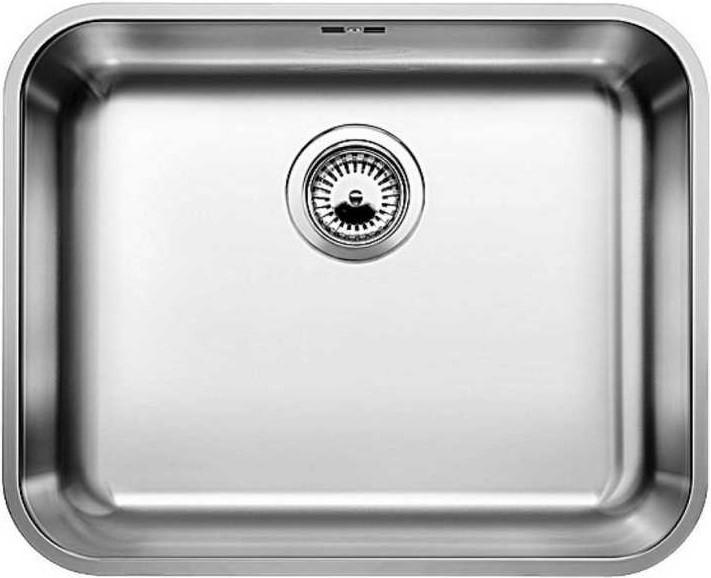 Кухонная мойка Blanco Supra 500-U полированная сталь 518205 кухонная мойка blanco supra 500 u 518206