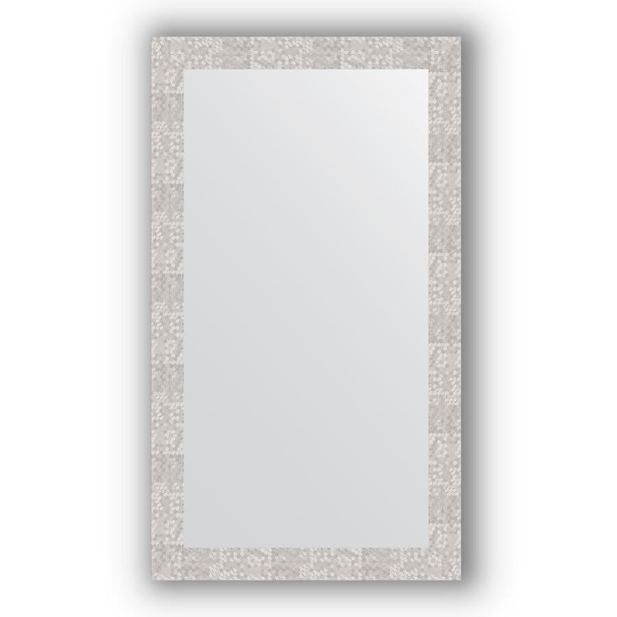 Зеркало 66х116 см соты алюминий Evoform Definite BY 3211 зеркало evoform definite floor 197х108 соты алюминий