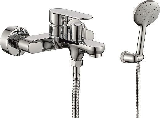 Смеситель для ванны Rush Luson LU1630-44 смеситель с душевой лейкой rush luson lu1630 51 хром