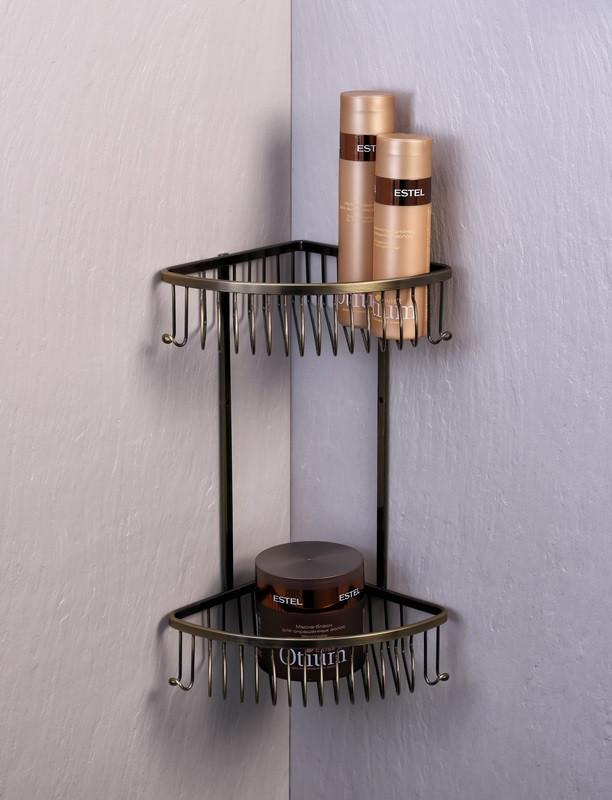 Полка угловая 18,5х18,5 см Fixsen FX-858-2 угловая полка fixsen fx 858 1 антик