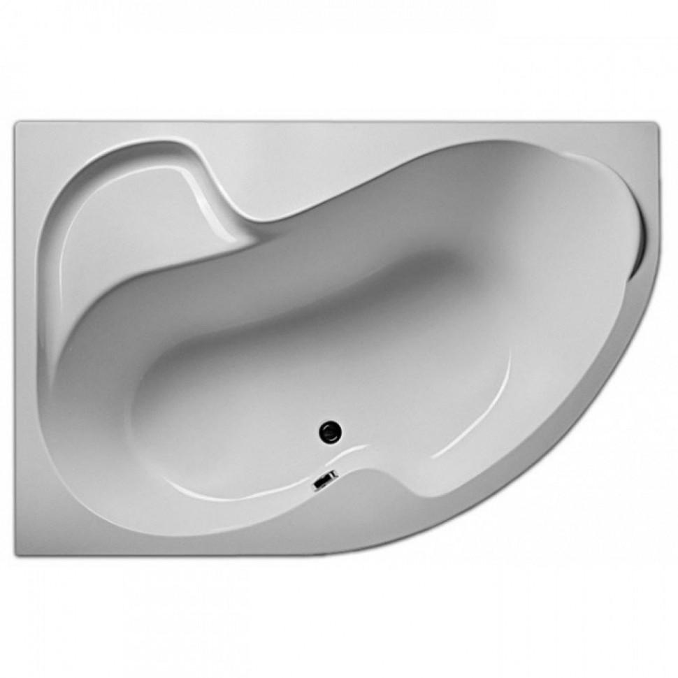Акриловая ванна 150х105 см L Marka One Aura 01ау1510л акриловая ванна 150х75 см marka one convey l 01кон1575л