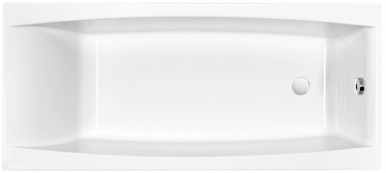 Акриловая ванна 180х80 см Cersanit Virgo WP-VIRGO*180 цена в Москве и Питере