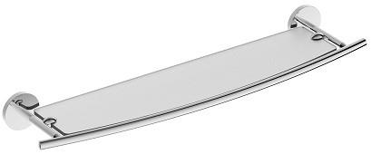 Полка стеклянная 59,5 см Rush Fiji FI18611