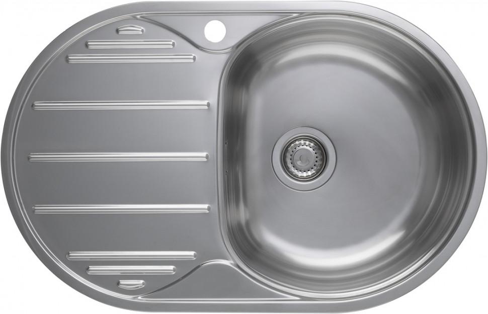 Кухонная мойка полированная сталь Longran Eclipse ELP780.500 -GT8P 1R цена