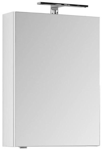 Зеркальный шкаф 50х67 см белый Aquanet Порто 00195726