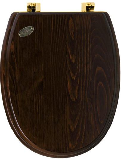 Сиденье для унитаза Simas Arcade AR005noc/oro simas arcade сиденье для унитаза с мех плав закр бел хром ar006