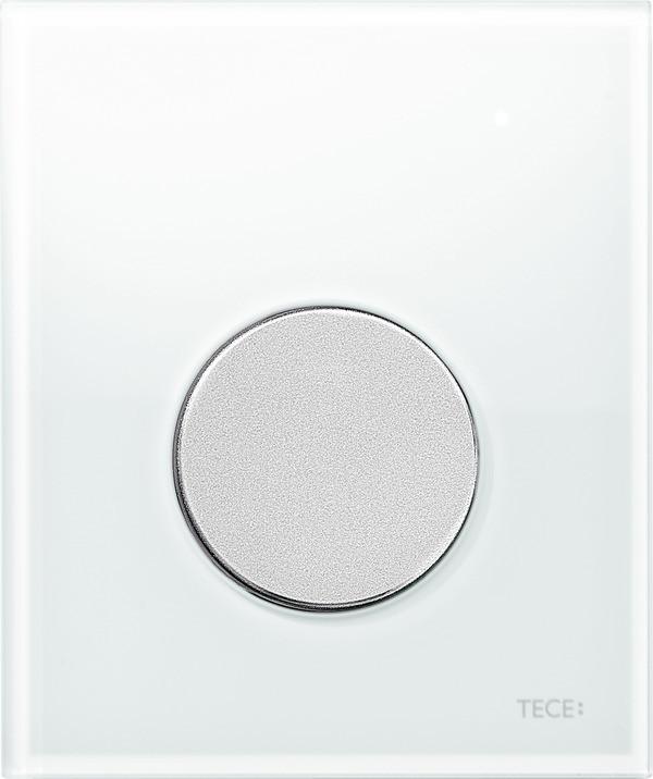 Смывная клавиша для писсуара TECE TECEloop белый/матовый хром 9242659 смывная клавиша для писсуара tece teceloop мятный зеленый белый 9242651