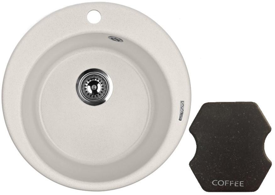 Кухонная мойка COFFEE Lava R1.CFF цена и фото