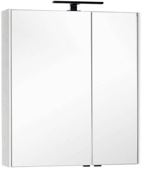 Зеркальный шкаф 75х85,1 см белый Aquanet Тулон 00183392 зеркальный шкаф 65х88 1 см белый aquanet стайл 00179922