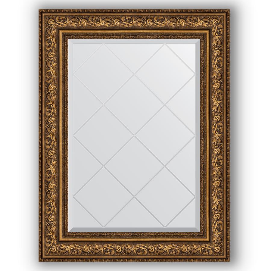 Зеркало 70х93 см виньетка состаренная бронза Evoform Exclusive-G BY 4126