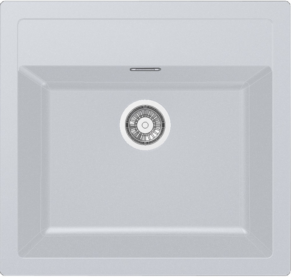 Кухонная мойка Tectonite Franke Sirius SID 610 полярный белый 114.0443.343 franke srg 610 белый