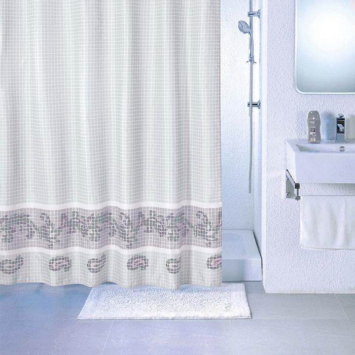 Фото - Штора для ванной комнаты Milardo Fresco SCMI012P штора для ванной комнаты milardo checked fresco scmi020p