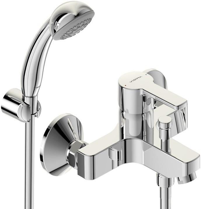 Смеситель для ванны с душем Vidima Уно BA238AA смеситель для ванны с коротким изливом vidima uno ba238aa