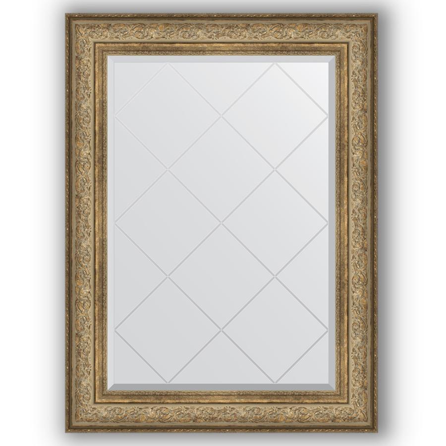 Фото - Зеркало 80х108 см виньетка античная бронза Evoform Exclusive-G BY 4210 зеркало 75х130 см виньетка античная бронза evoform exclusive g by 4230