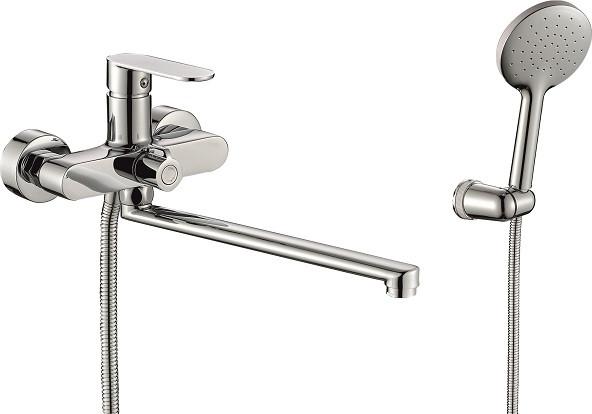 Смеситель для ванны Rush Luson LU1630-51 смеситель с душевой лейкой rush luson lu1630 51 хром