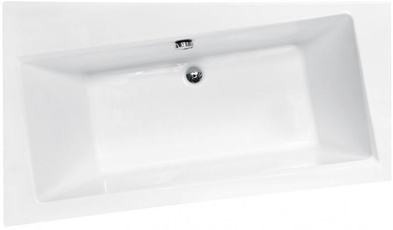 Акриловая ванна 150х90 см L Besco Infinity WAI-150-NL акриловая ванна besco bianka 150x95 l