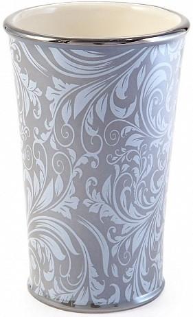 Стакан Kassatex Bedminster Scroll Flint Grey ATB-T-FLG цена 2017