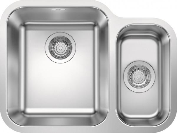 Кухонная мойка Blanco Supra 340/180-U полированная сталь 525216