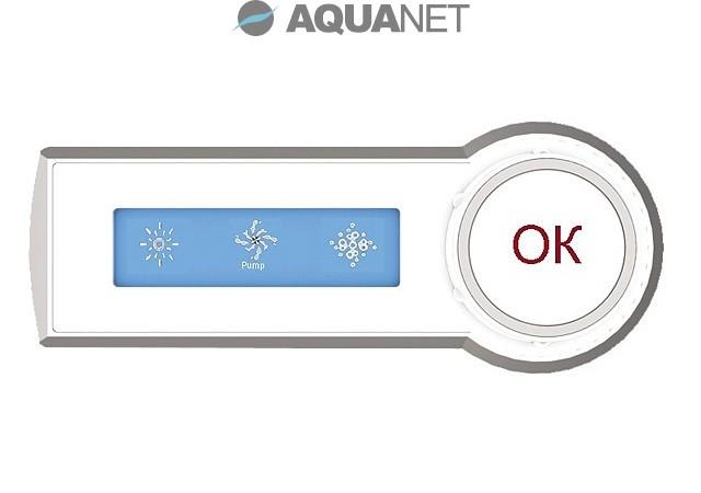 Пульт для ванн, с г/м, с а/м, с подсветкой Aquanet PR9875