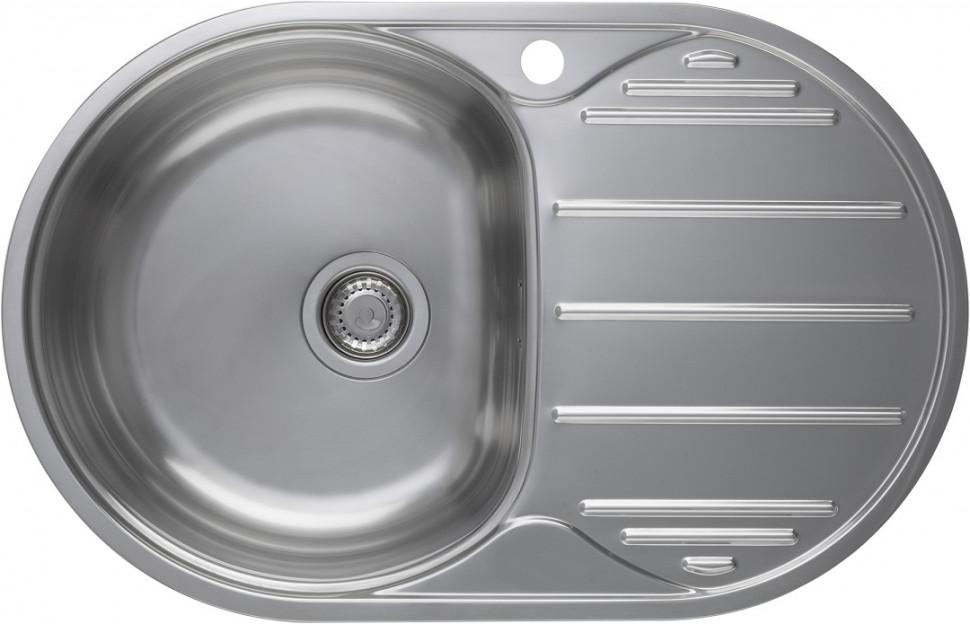 Кухонная мойка полированная сталь Longran Eclipse ELP780.500 -GT8P 2L цена