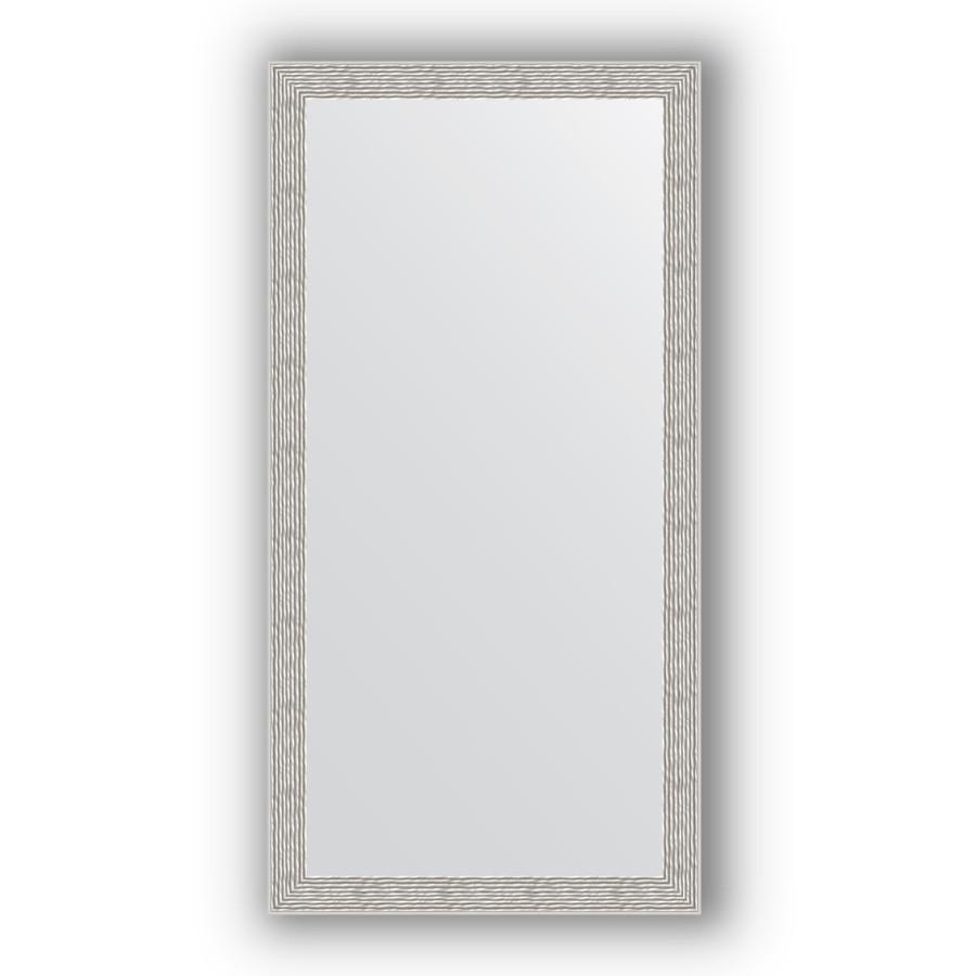 Фото - Зеркало 51х101 см волна алюминий Evoform Definite BY 3070 зеркало в багетной раме поворотное evoform definite 51x101 см волна алюминий 46 мм by 3070